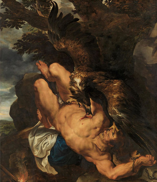 """Prometheus Bound"" by Rubens"